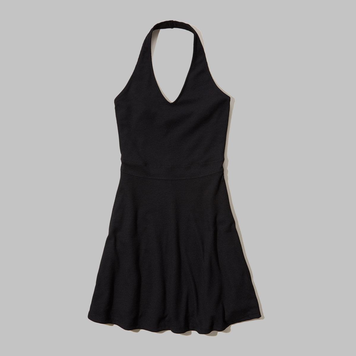 Knit Halter Dress