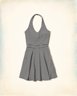 Knit Halter Dress