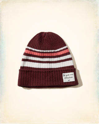 Patch Slouchy Beanie