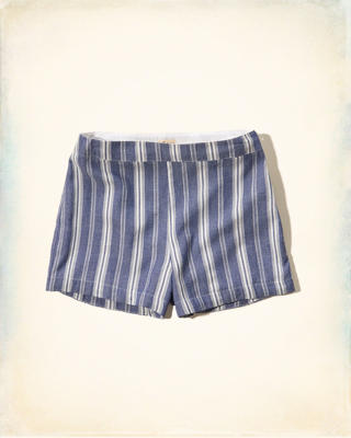 Structured Tap Shorts