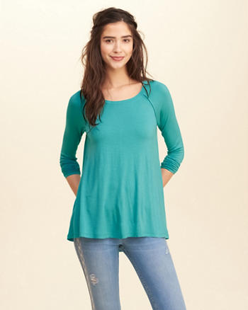 Long-Sleeve Swing T-Shirt