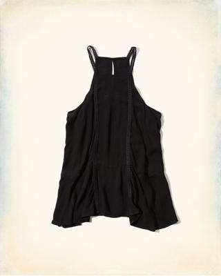 Keyhole-Back High Neck Tank