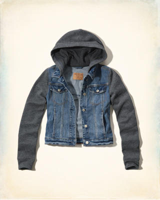 Twofer Denim Jacket