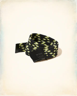 Patterned Bungee Belt