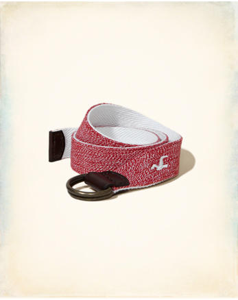hol Reversible Textured Fabric Belt