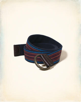 Reversible Patterned Fabric Belt