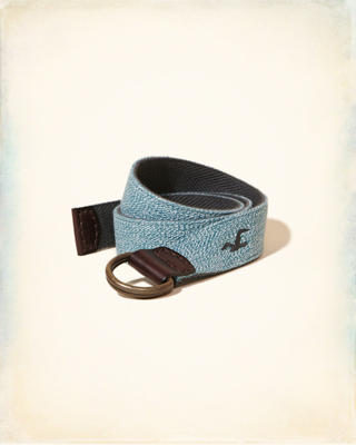 Reversible Textured Fabric Belt