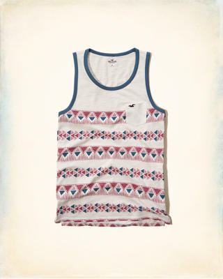 Printed Icon Tank