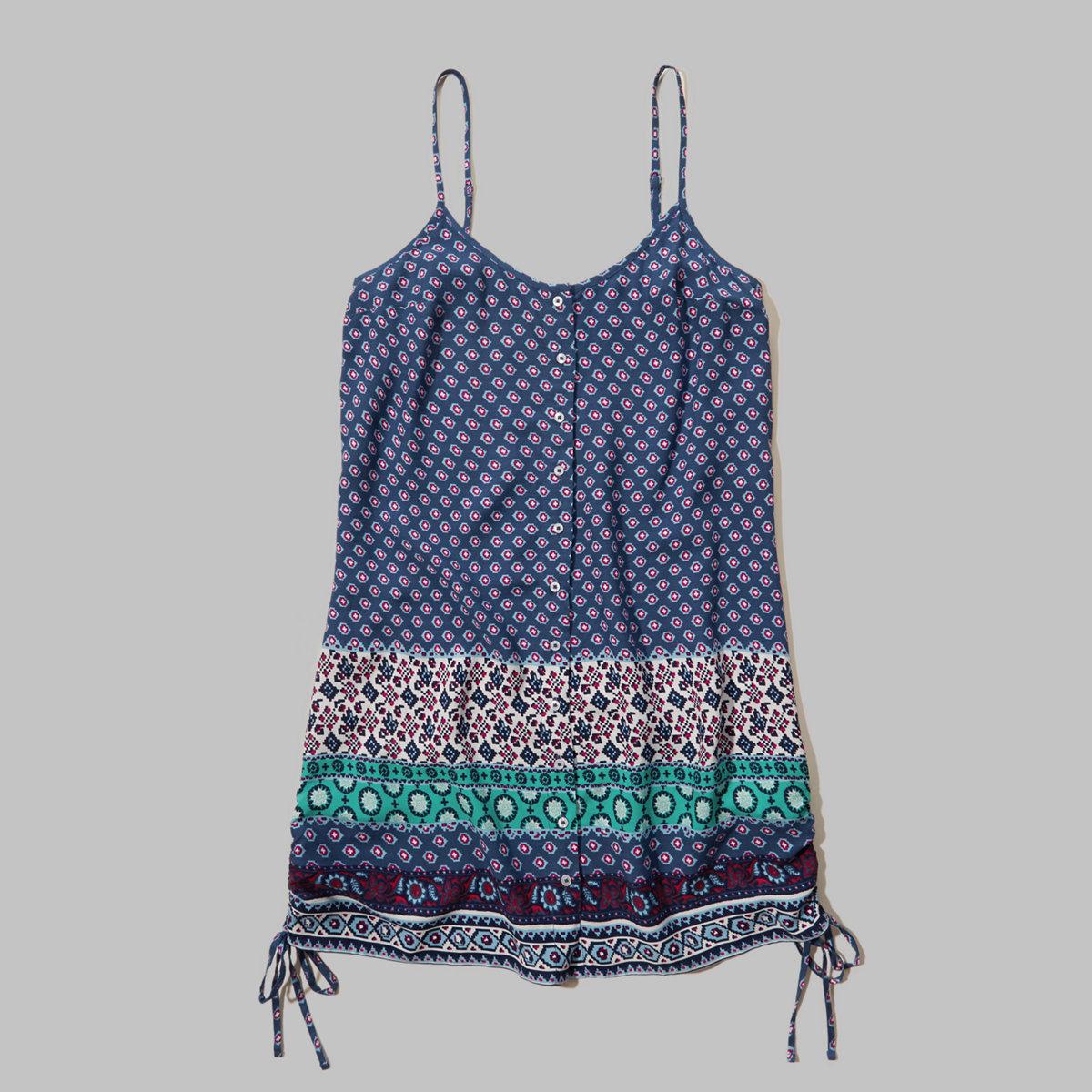 Button-Down Cami Dress