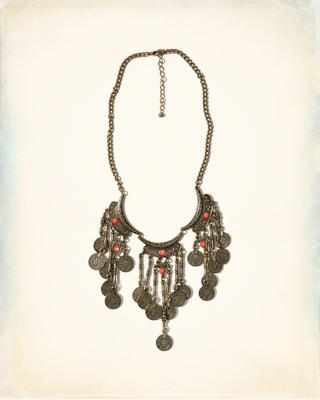 Bronze Statement Necklace