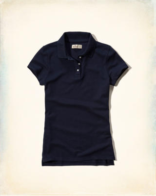 Solid Slim Stretch Polo