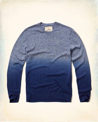 Dip Dye Crew Icon Sweater