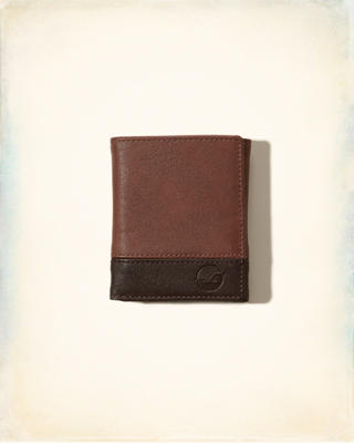 Vegan Leather Trifold Wallet