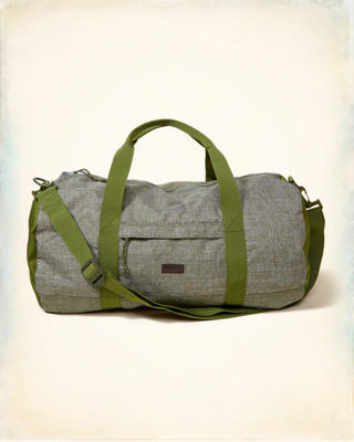 Printed Duffle Bag