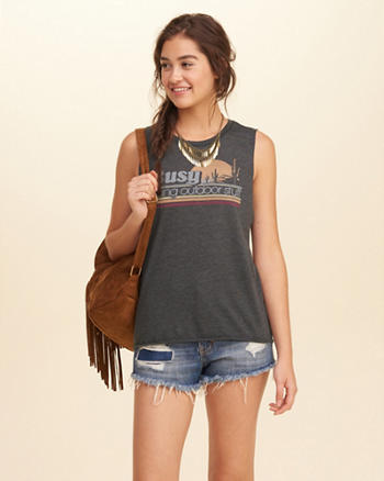 Hollister + SeriousFun Graphic Tank