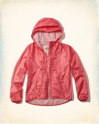 Packable Nylon Windbreaker