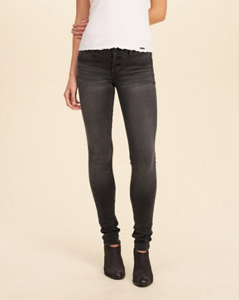 Hollister Low-Rise Super Skinny Jeans
