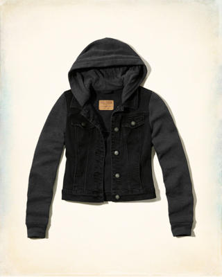 Twofer Hooded Jacket