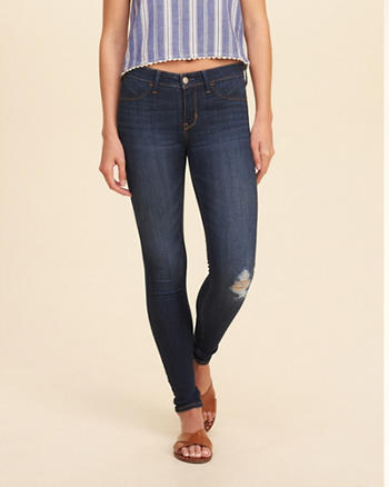 Low-Rise Jean Leggings