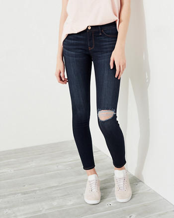 Advanced Stretch Low-Rise Jean Leggings