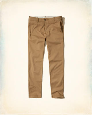 Hollister Skinny Zipper Fly Chino
