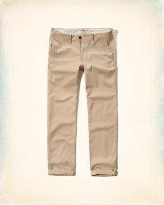 Hollister Relaxed Zipper Fly Chinos