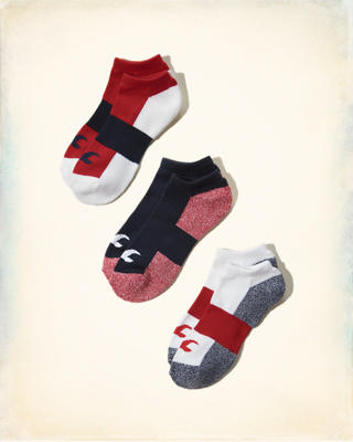 Colorblock Icon Sock Multipack