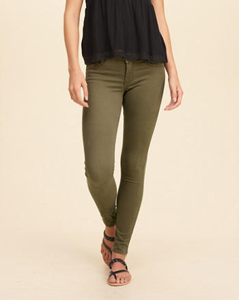 Hollister Low Rise Super Skinny Jean Leggings