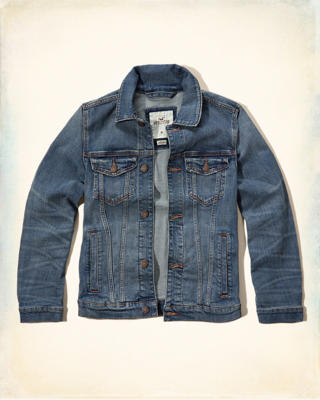Rinse Wash Denim Jacket