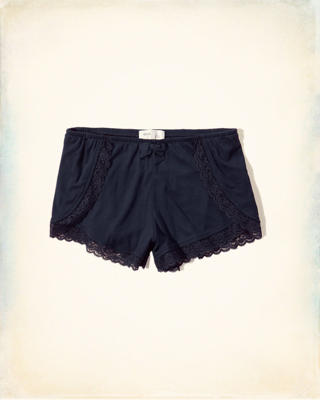 Lace-Trim Sleep Short