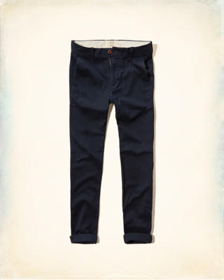 Hollister Super Skinny Zipper Fly Chinos