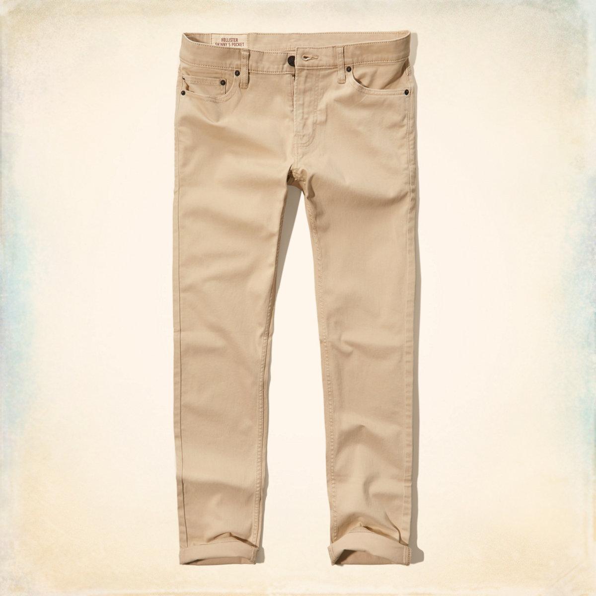 Hollister Skinny Five-Pocket Pants