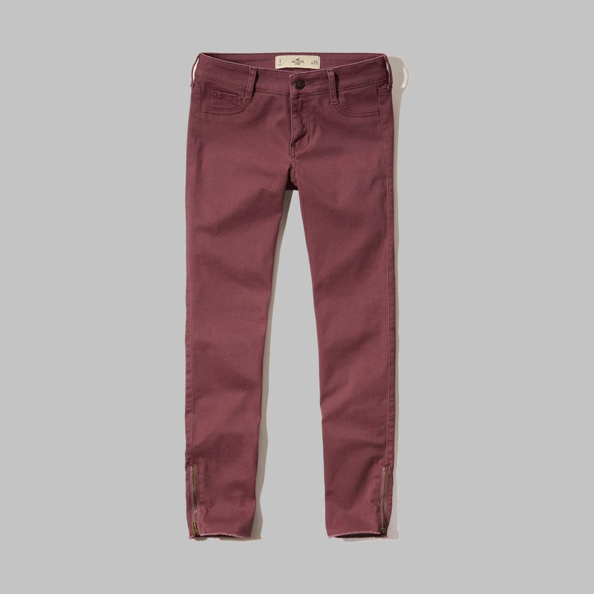 Hollister Low Rise Crop Pants