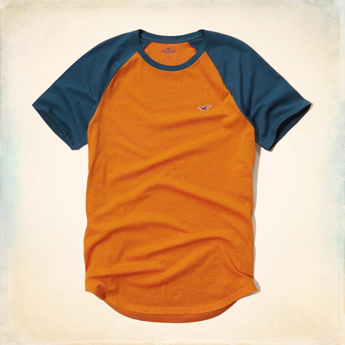 Colorblock Raglan T-Shirt