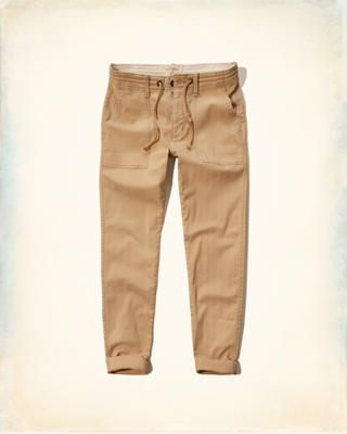 Hollister Taper Military Chinos