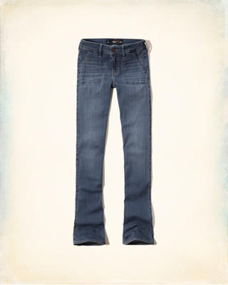 Hollister Low-Rise Boot Jeans