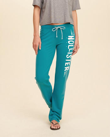 Hollister Skinny Logo Graphic Sweatpants