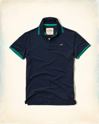 Tipped Icon Polo