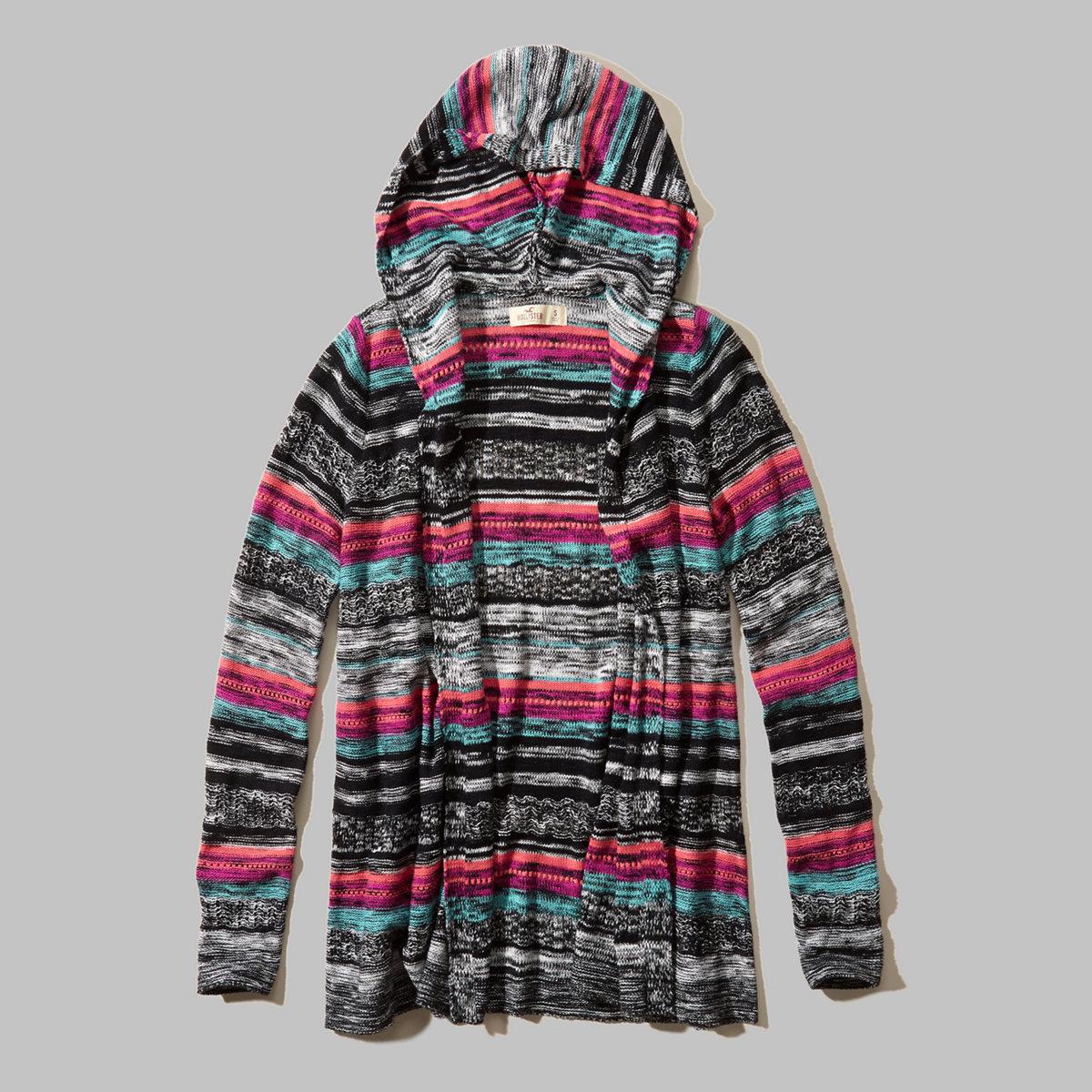 Lightweight Open Sweater
