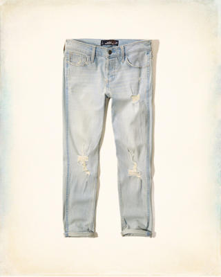 Hollister Low Rise Boyfriend Jeans
