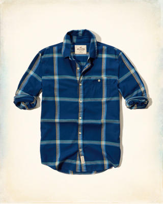 Plaid Brushed Cotton Shirt