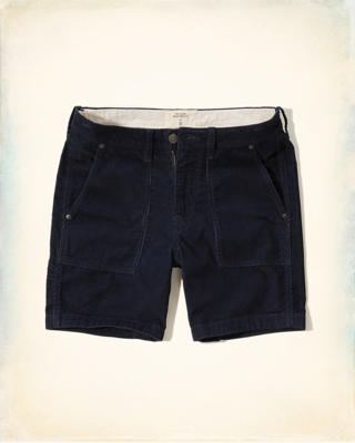 Hollister Beach Prep Fit Corduroy Shorts