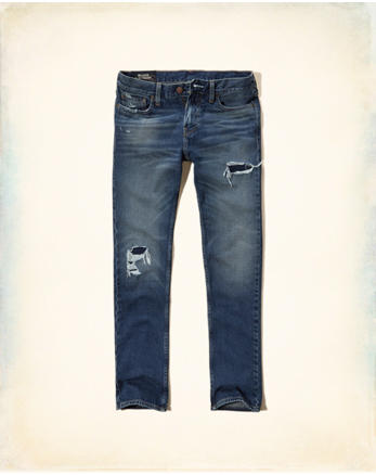 hol Hollister Slim Straight Jeans