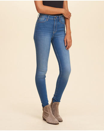 hol High Rise Super Skinny Jeans