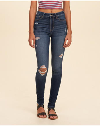 hol Stretch High-Rise Super Skinny Jeans