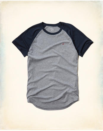 hol Must-Have Colorblock Raglan T-Shirt