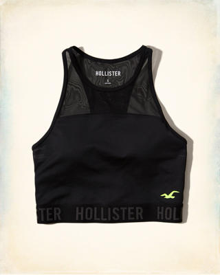 Hollister Cali Sport Cropped Tank