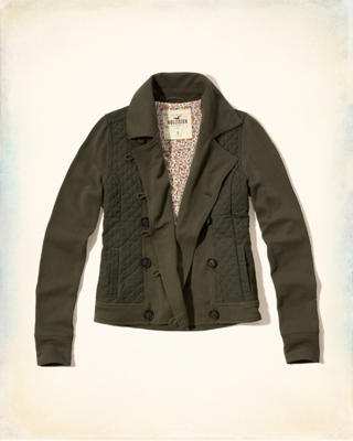 Quilted Fleece Jacket