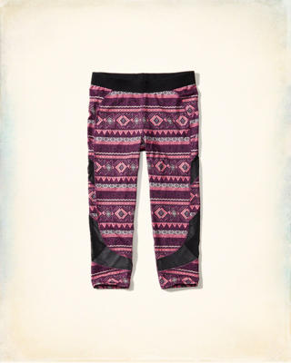 Hollister Cali Sport Mesh Panel Legging