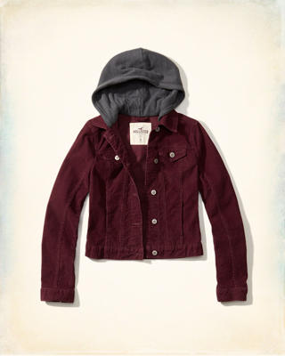 Corduroy Twofer Jacket